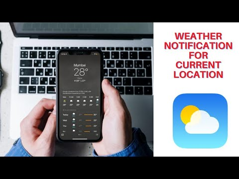 Get Weather Notifications on iOS 15